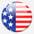 American_flag_circle_grey_2