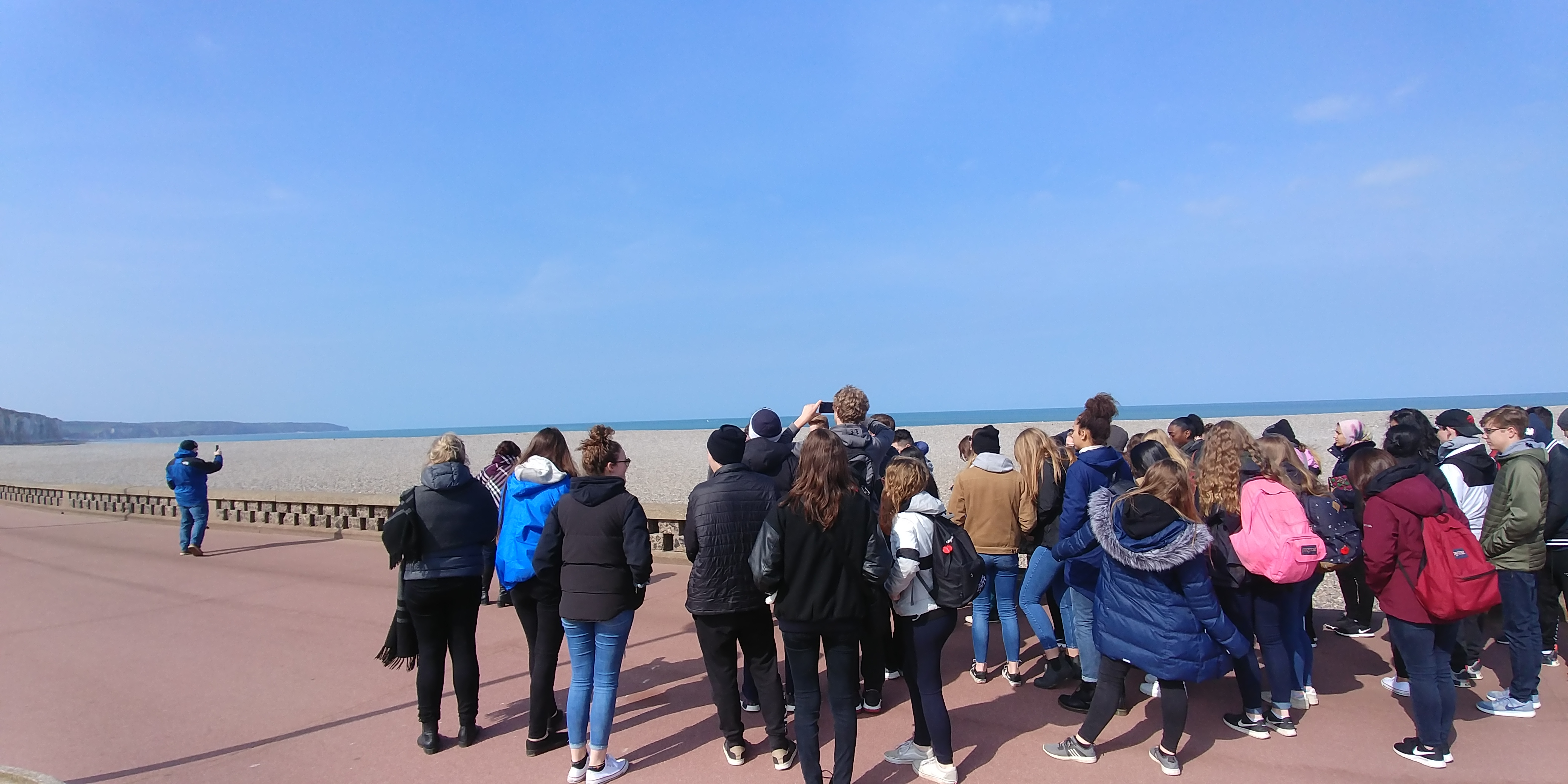 Students in Dieppe