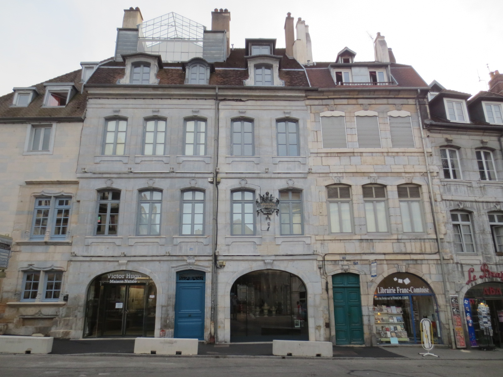 Victor Hugo's birthplace in France
