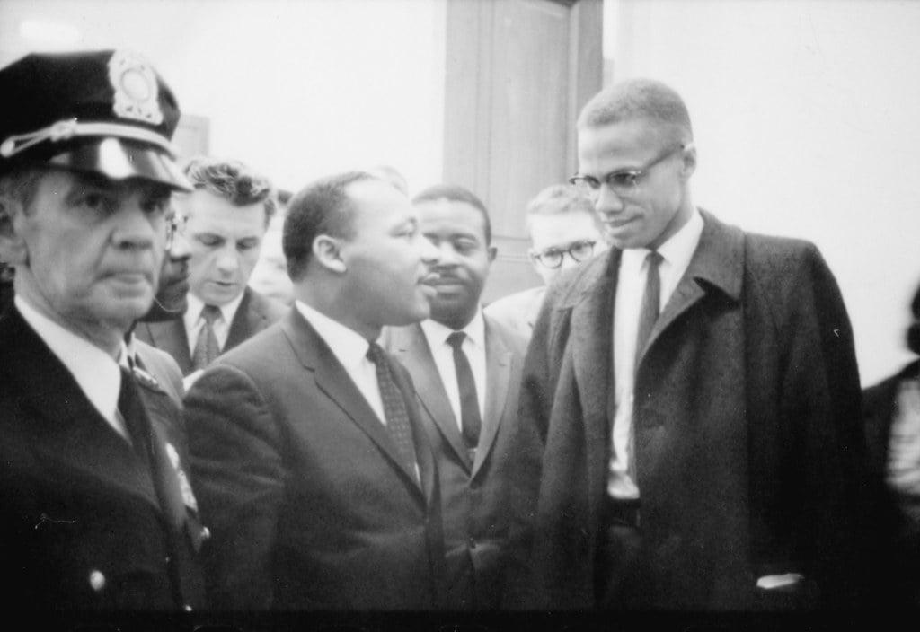 Martin Luther King & Malcom X