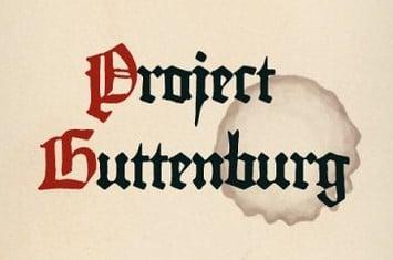 Projects Guttenburg Logo