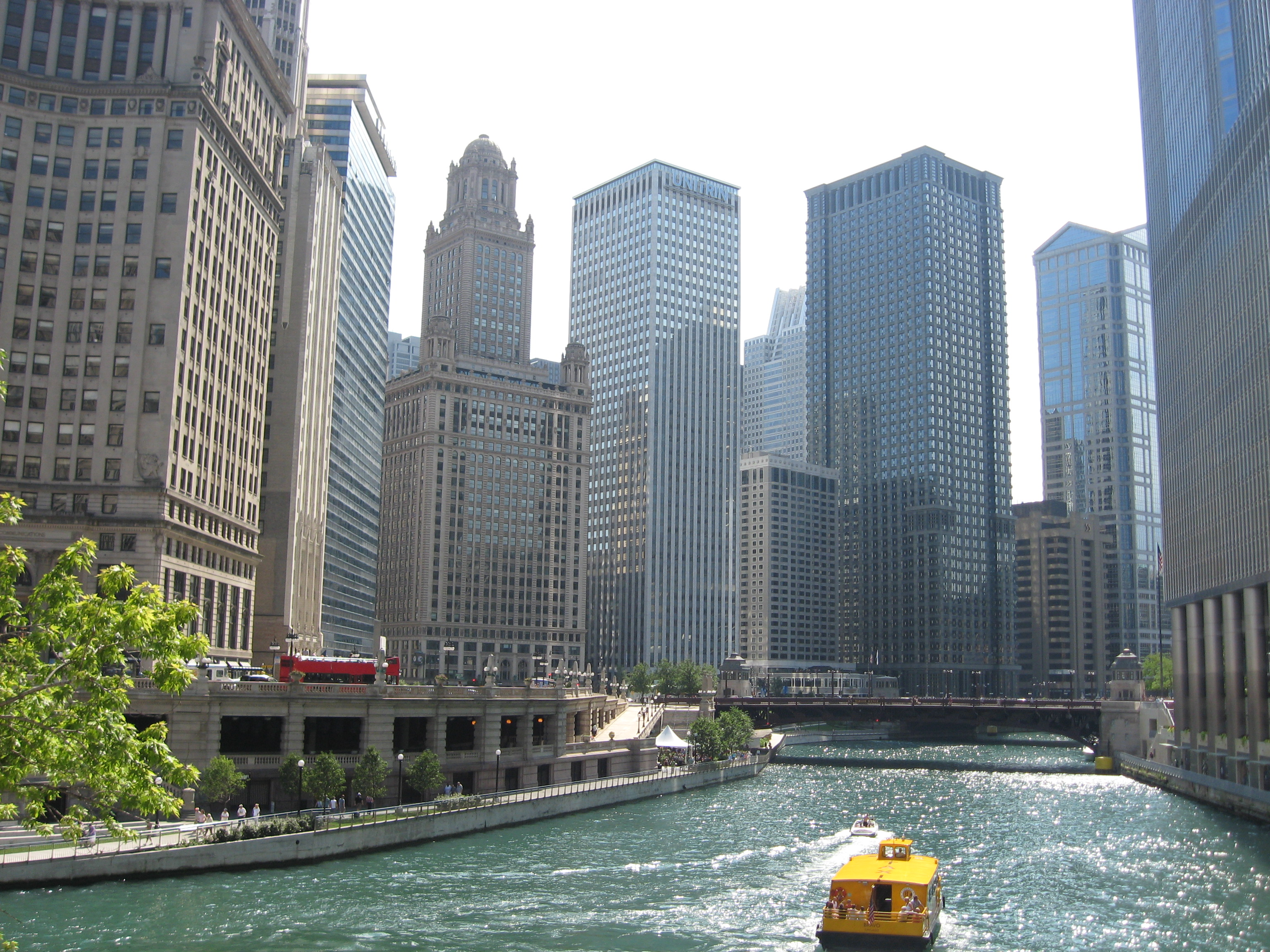 JSED_USA_Chicago_Chicago River_Architecture