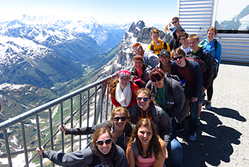 JSED_Europe_France_Alps_Aiguille du Midi_Youth_Group