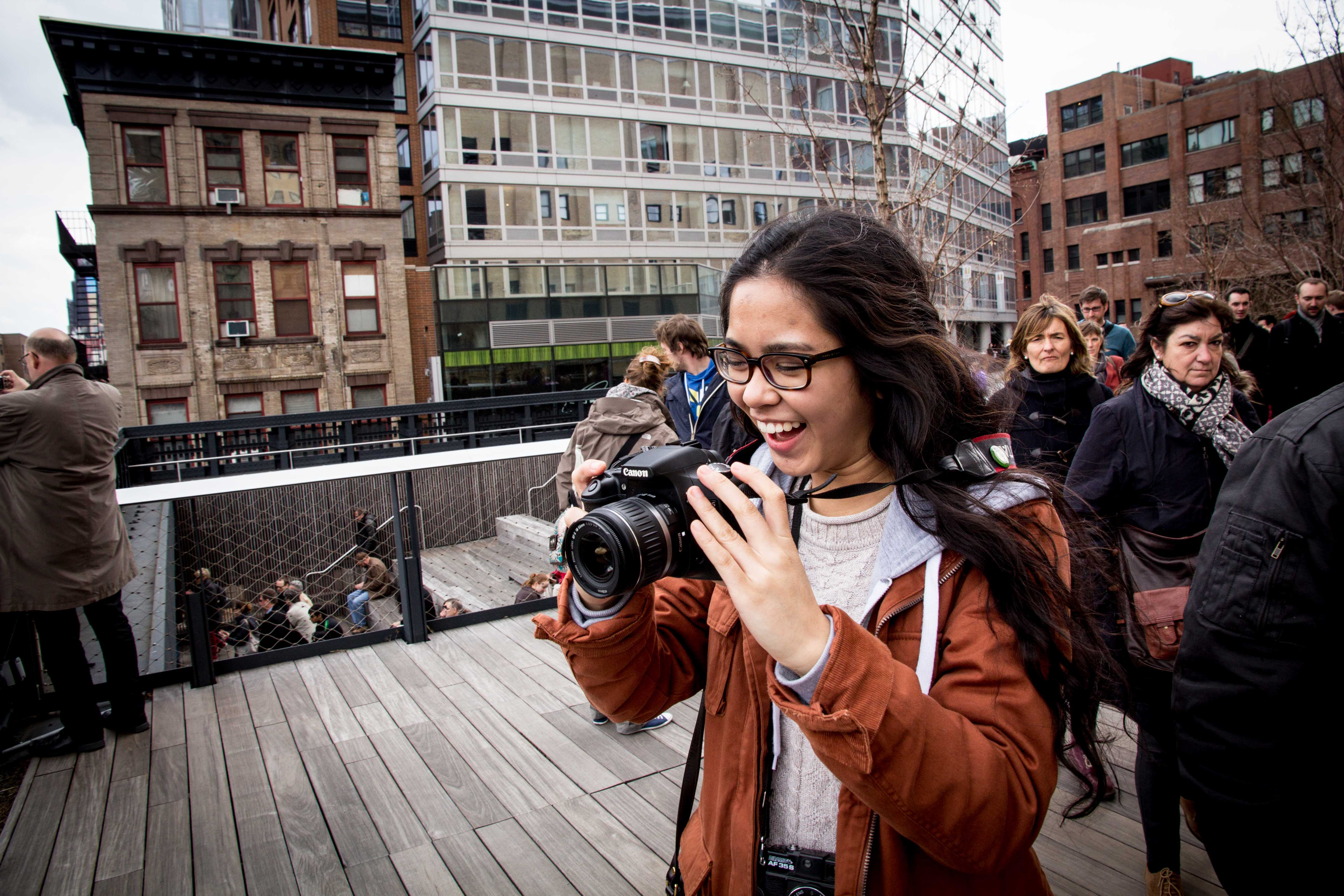 JSED_NYC_Student photo shoot on High Line_Youth