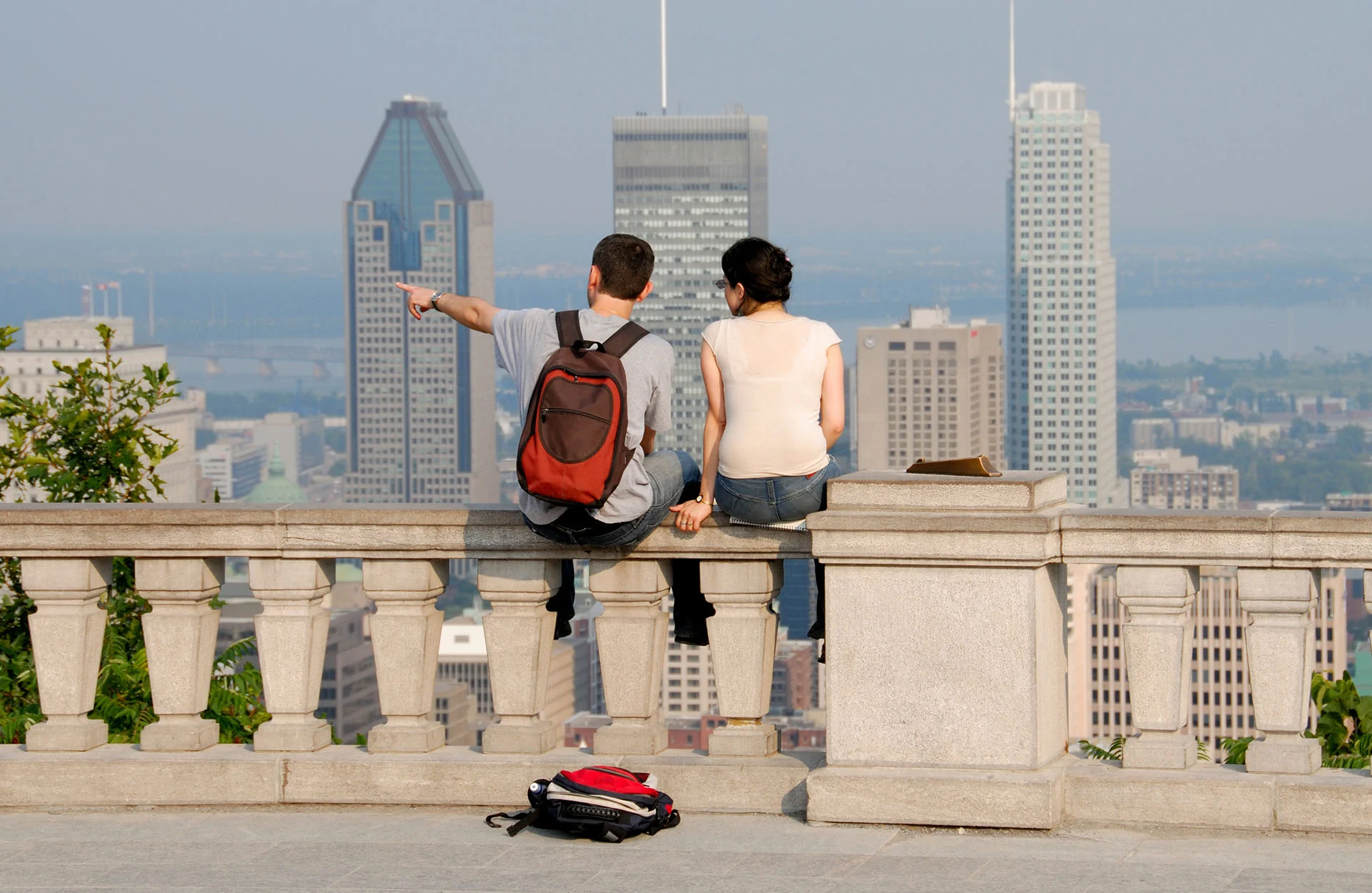 View of Montreal from Mont-Royal