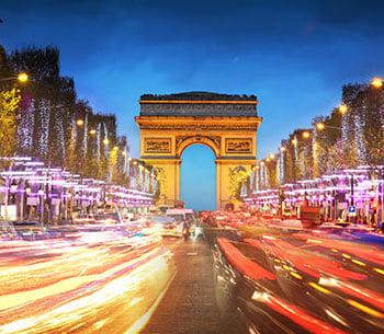 paris 8 day art tour card