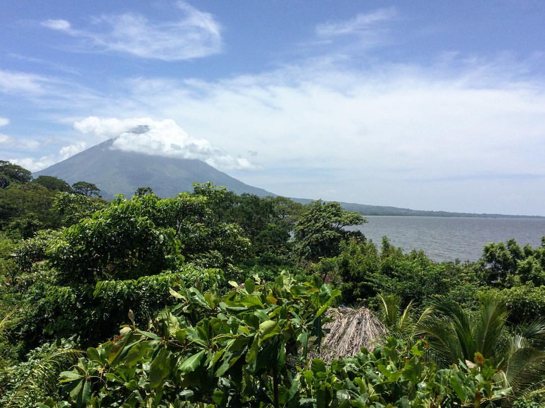 Ometepe Island view on Volcano Conception