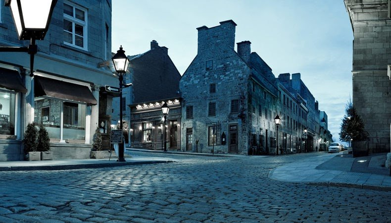 Haunted Old Montreal By Night